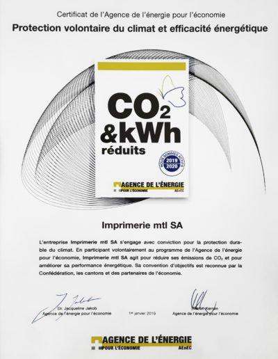 Protection volontaire du climat et efficacité énergétique